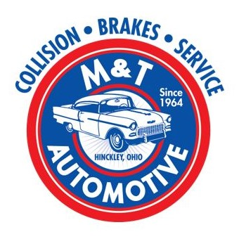 M&T Auto Body Mobile Retina Logo